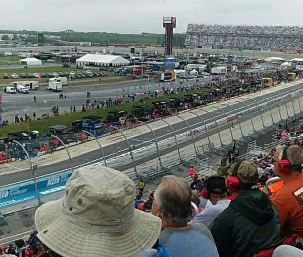 Dover International Speedway, Abschnitt: 117, Reihe: 28, Platz: 5