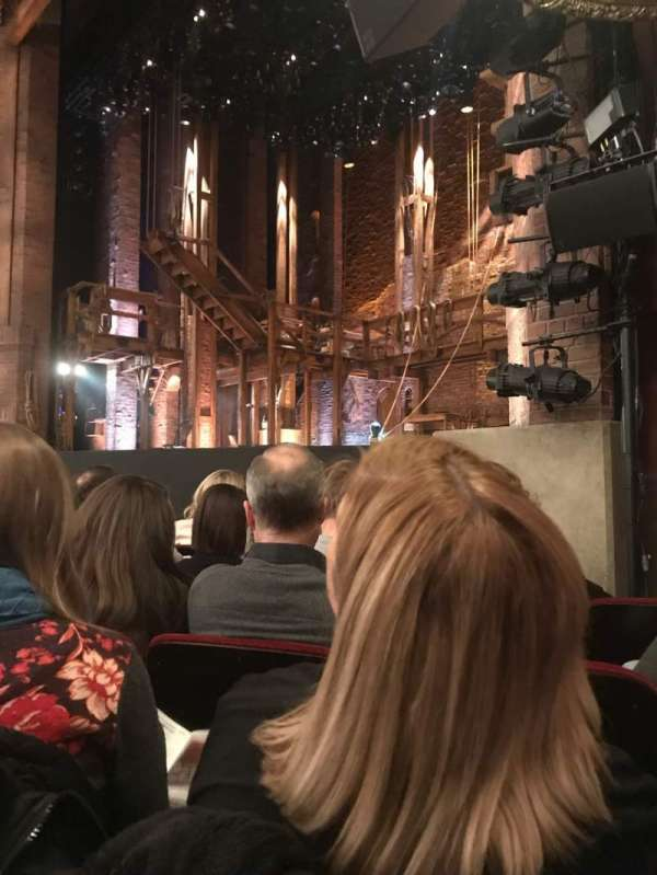 CIBC Theatre, Abschnitt: ORCH-R, Reihe: F, Platz: 20