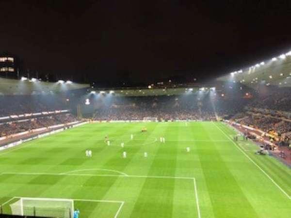Molineux Stadium, Bereich: PU1, Reihe: A, Platz: 15