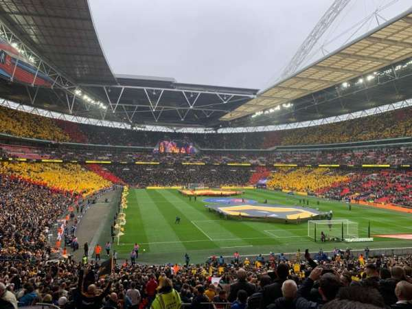Wembley Stadium, Abschnitt: 114, Reihe: 40, Platz: 68