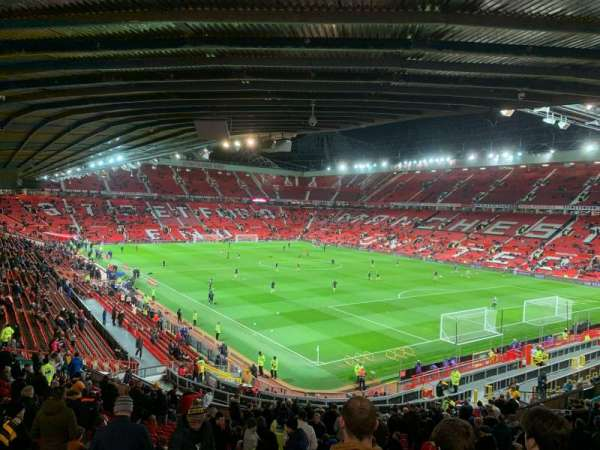 Old Trafford, Abschnitt: E231, Reihe: 29, Platz: 43