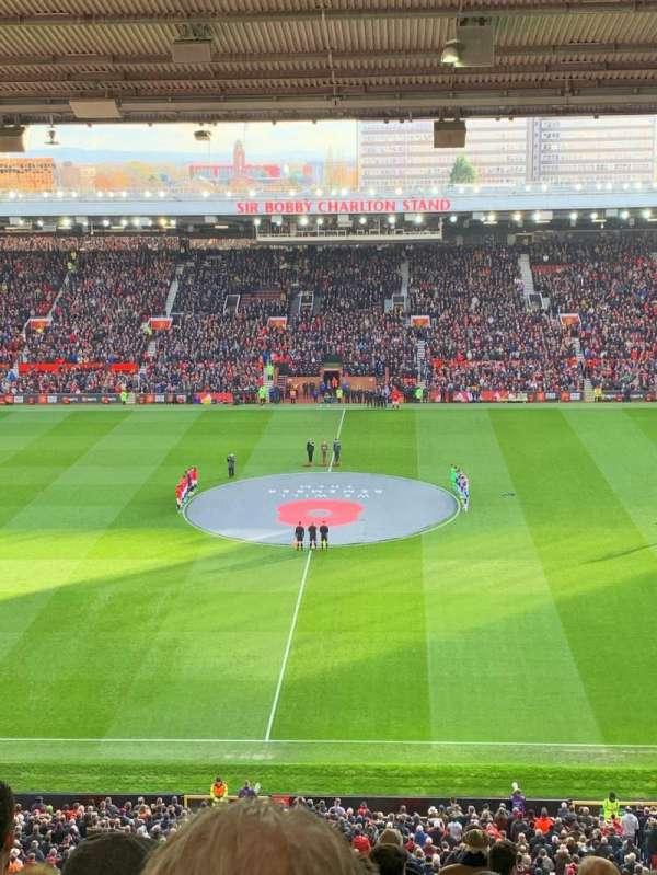 Old Trafford, Abschnitt: N3405, Reihe: 17, Platz: 109