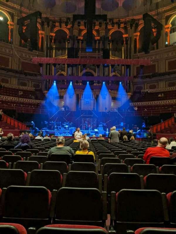 Royal Albert Hall, Bereich: C, Reihe: 25, Platz: 18