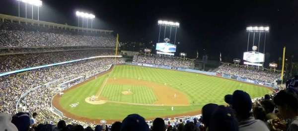 Dodger Stadium, Abschnitt: 10RS, Reihe: N, Platz: 6