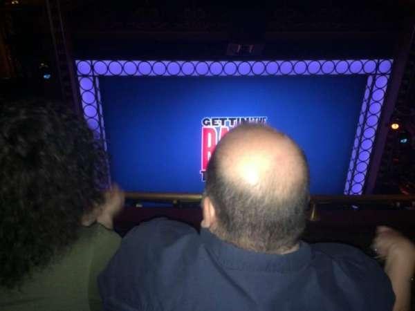 Belasco Theatre, Abschnitt: Balcony, Reihe: F, Platz: 103