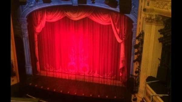 Hudson Theatre, Abschnitt: Balcony, Reihe: B, Platz: 2