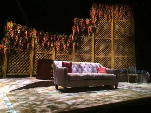 The Clurman & Theater Row, Abschnitt: Orch, Reihe: B, Platz: 13