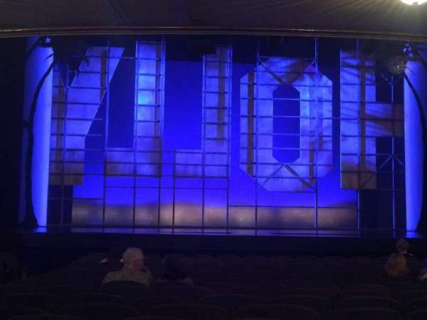 Nederlander Theatre, Abschnitt: Orch, Reihe: P, Platz: 111