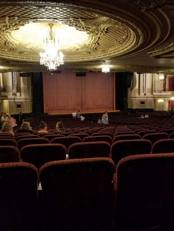 Boston Opera House, Abschnitt: Orchestra, Reihe: Y, Platz: 27