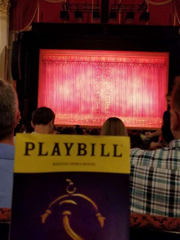 Boston Opera House, Abschnitt: Orcctr, Reihe: L, Platz: 110