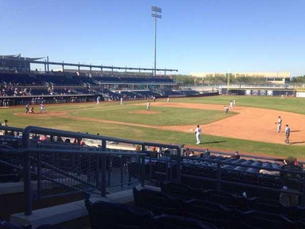 Peoria Sports Complex, Abschnitt: 214, Reihe: FF, Platz: 5