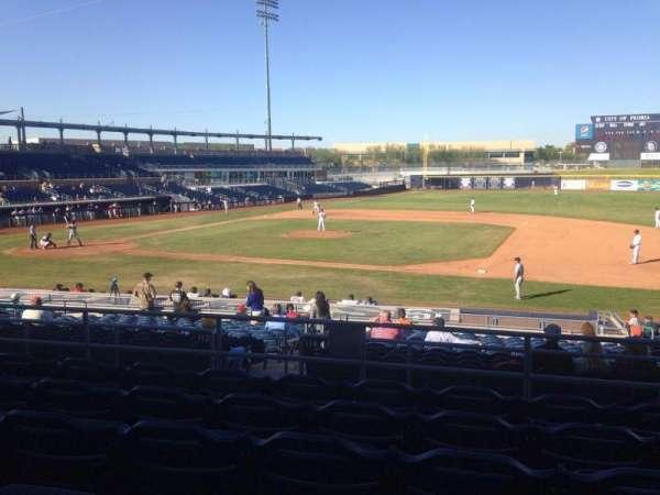 Peoria Sports Complex, Abschnitt: 212, Reihe: FF, Platz: 13