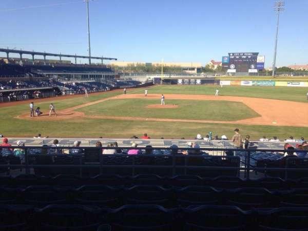 Peoria Sports Complex, Abschnitt: 210, Reihe: FF, Platz: 13