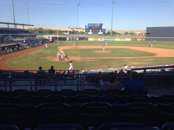 Peoria Sports Complex, Abschnitt: 206, Reihe: FF, Platz: 8
