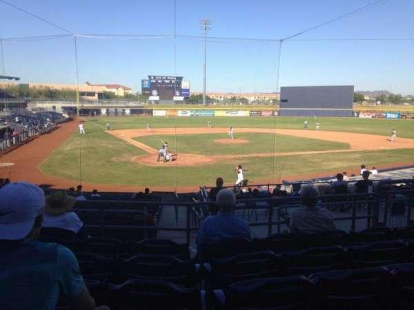 Peoria Sports Complex, Abschnitt: 204, Reihe: FF, Platz: 8
