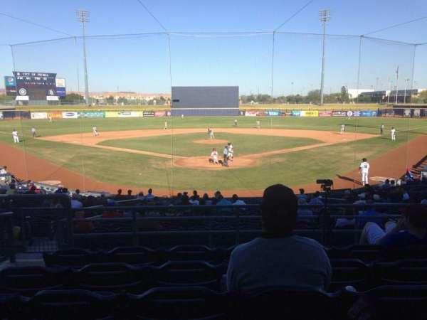 Peoria Sports Complex, Abschnitt: 200, Reihe: FF, Platz: 9