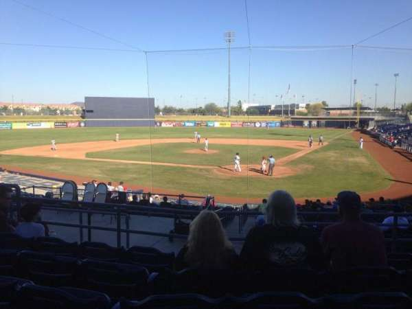 Peoria Sports Complex, Abschnitt: 203, Reihe: FF, Platz: 7