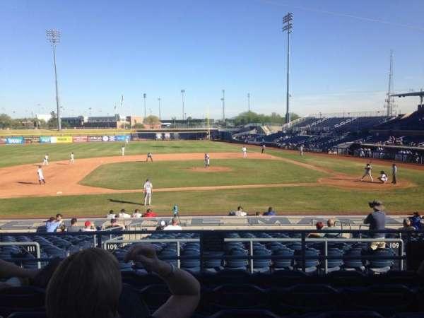 Peoria Sports Complex, Abschnitt: 209, Reihe: FF, Platz: 13