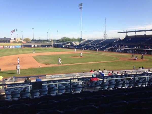 Peoria Sports Complex, Abschnitt: 211, Reihe: FF, Platz: 13