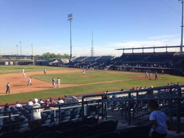 Peoria Sports Complex, Abschnitt: 213, Reihe: FF, Platz: 6