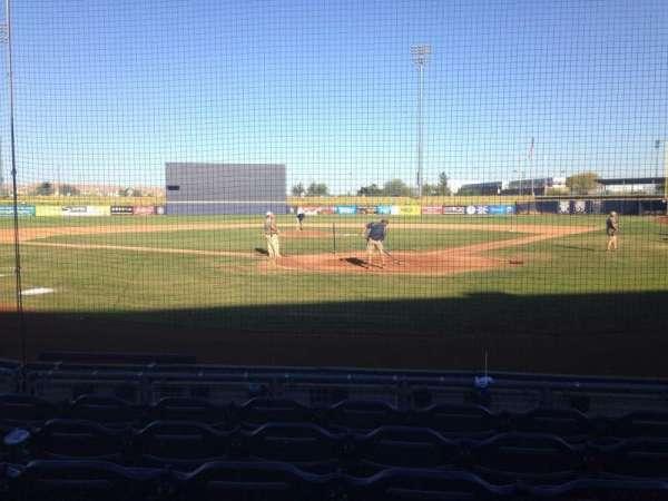 Peoria Sports Complex, Abschnitt: 101, Reihe: F, Platz: 5