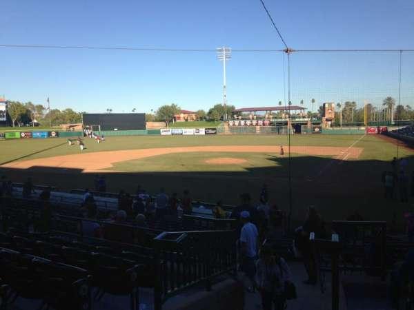 Scottsdale Stadium, Abschnitt: 203, Reihe: M, Platz: 11