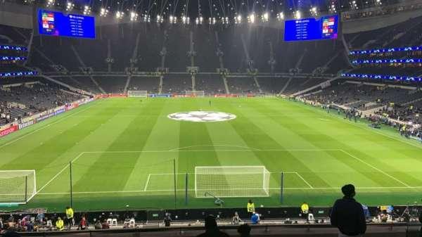 Tottenham Hotspur Stadium, Abschnitt: 420, Reihe: 8, Platz: 380