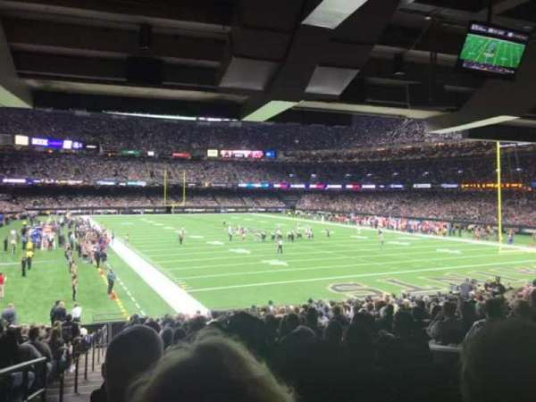 Video from Caesars Superdome