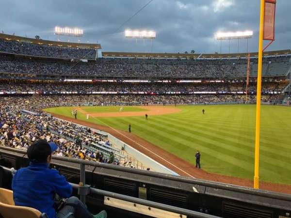 Dodger Stadium, Abschnitt: 164LG, Reihe: C, Platz: 1