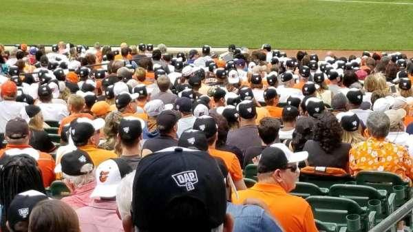Oriole Park at Camden Yards, Abschnitt: 13, Reihe: 1, Platz: 16