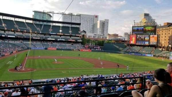 Oriole Park at Camden Yards, Bereich: 27, Reihe: 4, Platz: 6