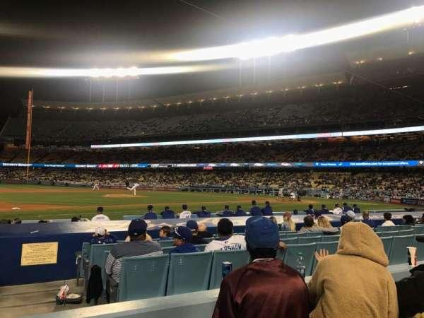Dodger Stadium, Abschnitt: 25FD, Reihe: C, Platz: 1