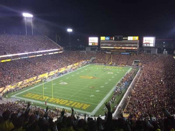 Sun Devil Stadium, Abschnitt: 219, Reihe: 33, Platz: 11
