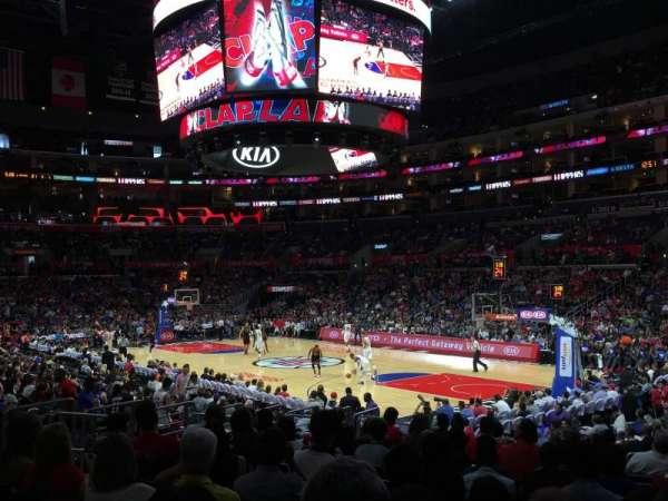 Staples Center, Abschnitt: 108, Reihe: 16, Platz: 19