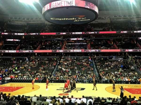 Capital One Arena, Abschnitt: 100, Reihe: L, Platz: 15