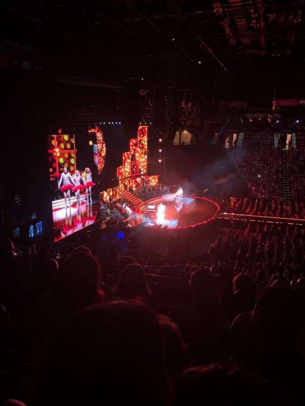 MGM Grand Garden Arena, Abschnitt: 217, Reihe: D, Platz: 6