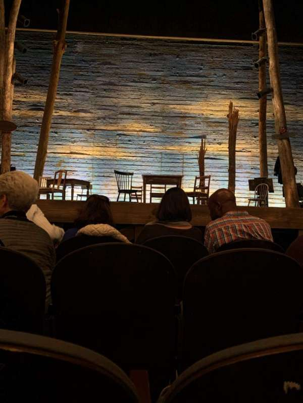 Gerald Schoenfeld Theatre, Abschnitt: Orchestra C, Reihe: C, Platz: 107
