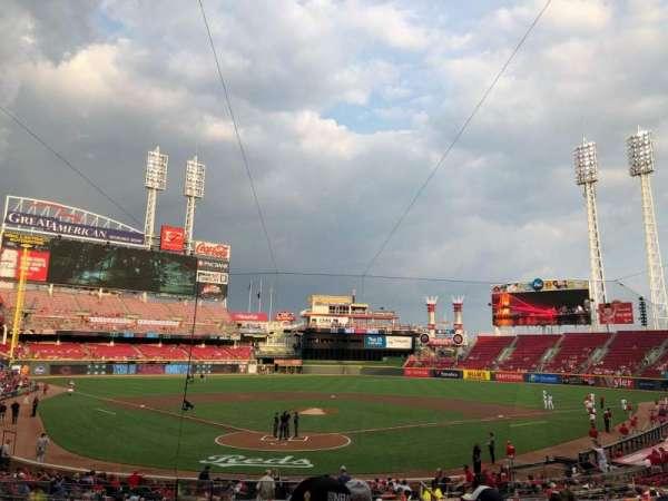 Great American Ball Park, Abschnitt: 124, Reihe: F, Platz: 13
