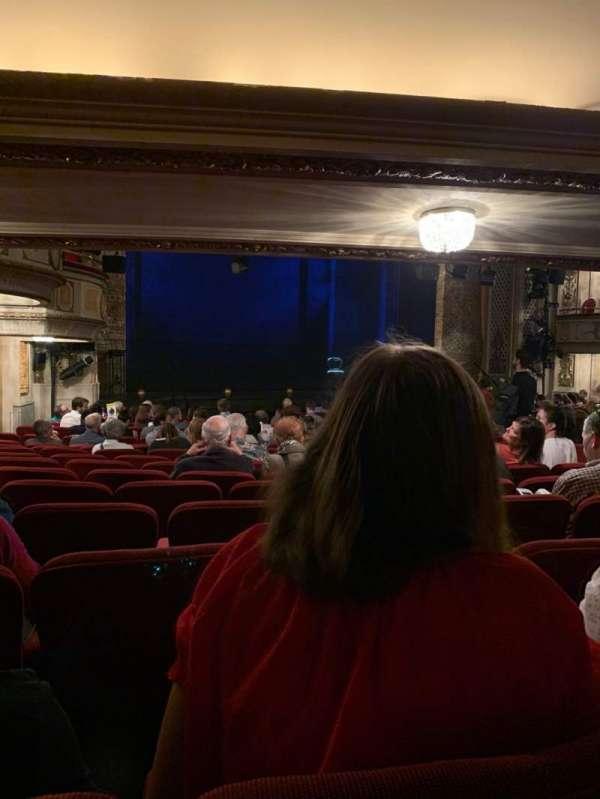 Cort Theatre, Abschnitt: Orchestra L, Reihe: P, Platz: 19