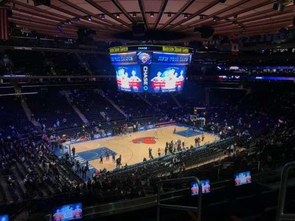 Madison Square Garden, Abschnitt: 221, Reihe: 5, Platz: 20