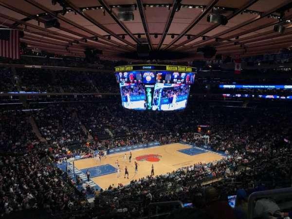 Madison Square Garden, Abschnitt: 221, Reihe: 5, Platz: 21