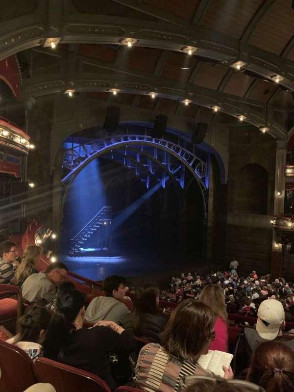 Lyric Theatre, Abschnitt: Dress circle L, Reihe: D, Platz: 13