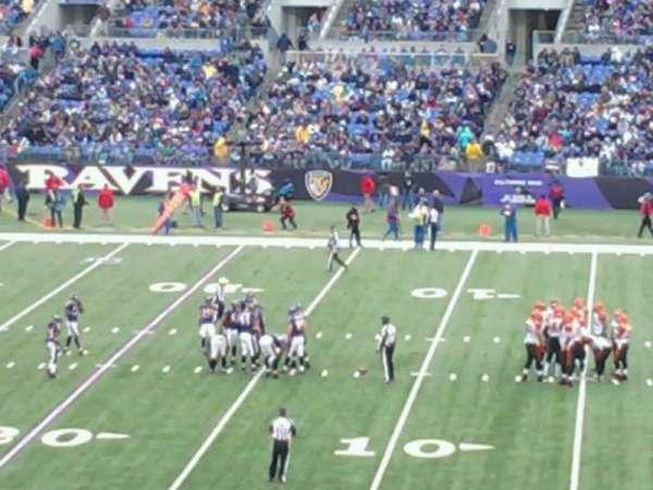M&T Bank Stadium, Abschnitt: 150, Reihe: 42, Platz: 21