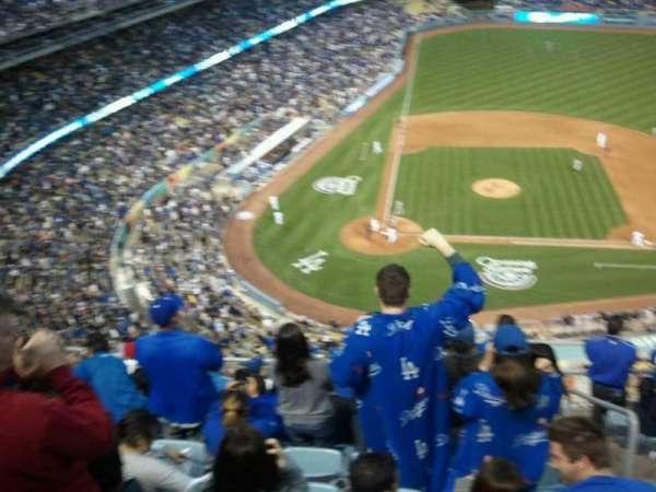 Dodger Stadium, Abschnitt: upper deck, Reihe: 10, Platz: 234