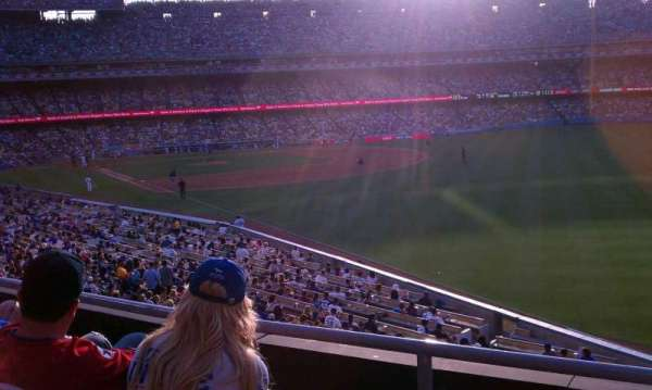 Dodger Stadium, Abschnitt: 162LG, Reihe: C, Platz: 1