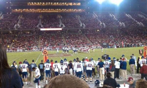 Stanford Stadium, Abschnitt: 133, Reihe: E, Platz: 14