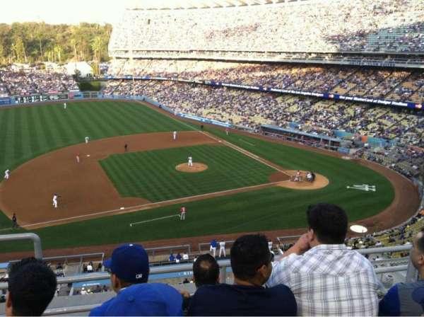 Dodger Stadium, Abschnitt: 17RS, Reihe: D, Platz: 21