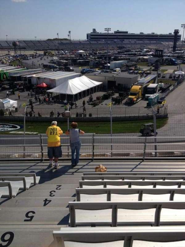 Dover International Speedway, Abschnitt: 192, Reihe: 8, Platz: 21