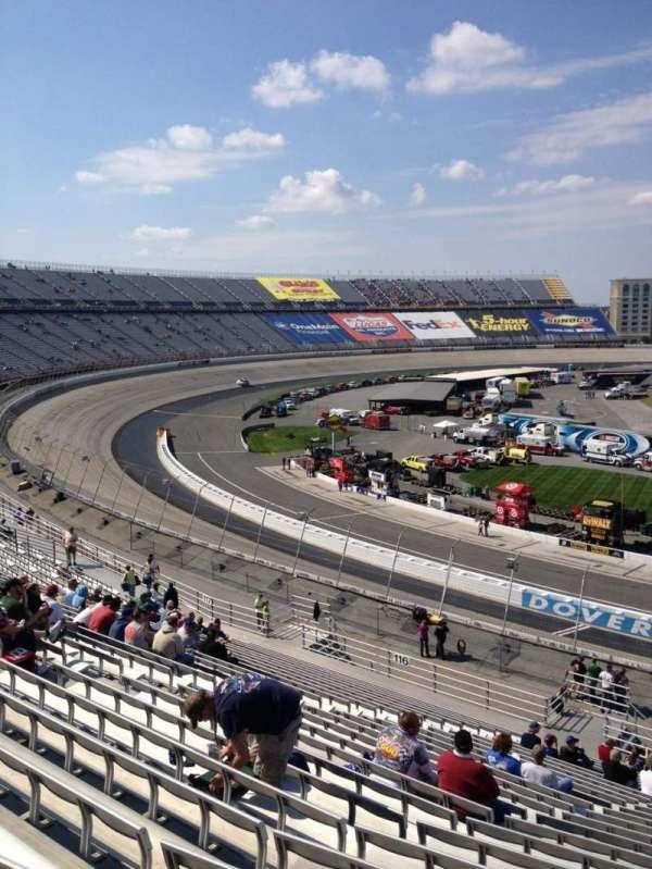 Dover International Speedway, Abschnitt: 115, Reihe: 25, Platz: 5