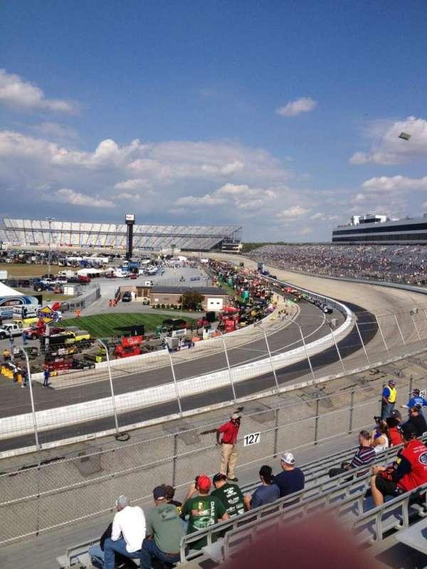 Dover International Speedway, Abschnitt: 128, Reihe: 12, Platz: 6